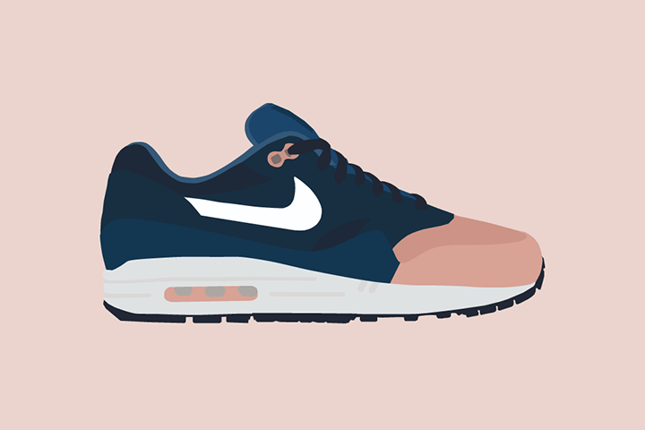 Illustrator The Lime Bath Ronnie Fieg works Nike Air Max 1 The Daily Street 03