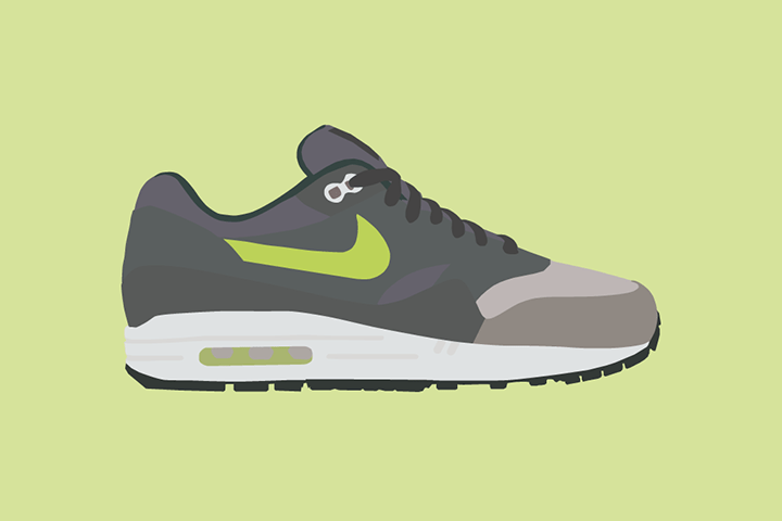 Illustrator The Lime Bath Ronnie Fieg works Nike Air Max 1 The Daily Street 06