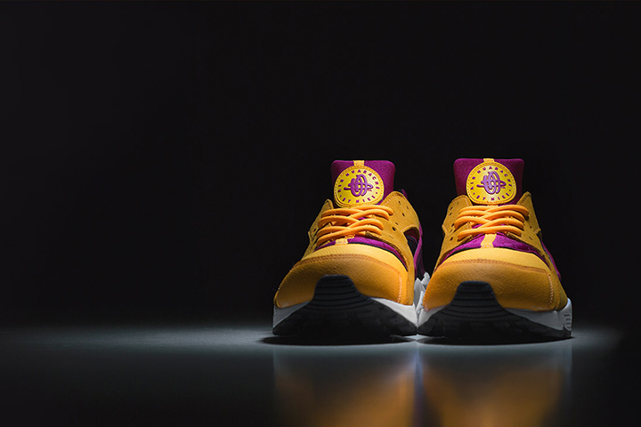 size Nike Air Huarache LE Laser Orange Hyper Fuchsia 001