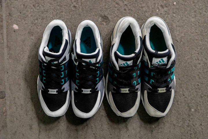 adidas EQT Running Support 93 OG vs re-issue 2014 005