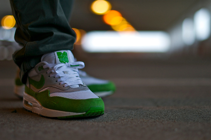 Patta Nike Air Max 1 green 2009