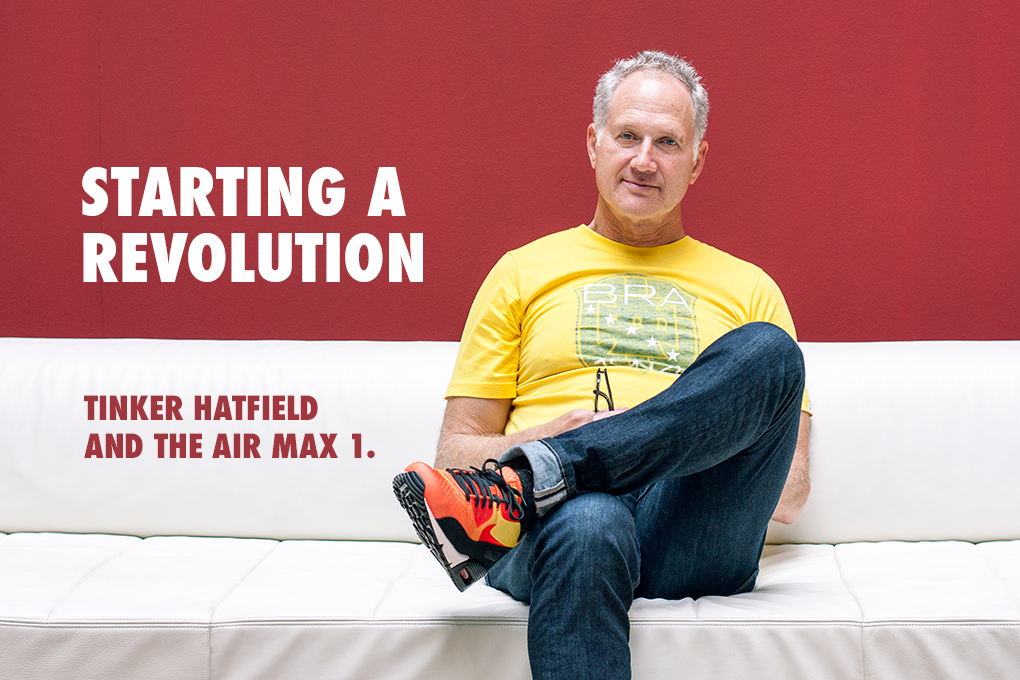 Starting a revolution Tinker Hatfield Air Max 1 interview The Daily Street 001
