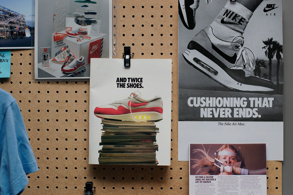 Starting a revolution Tinker Hatfield Air Max 1 interview The Daily Street 004