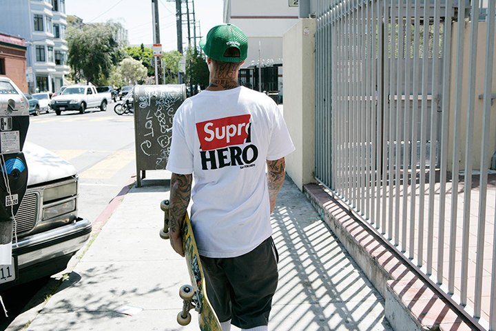 Supreme ANTIHERO Summer 2014 capsule collection 001
