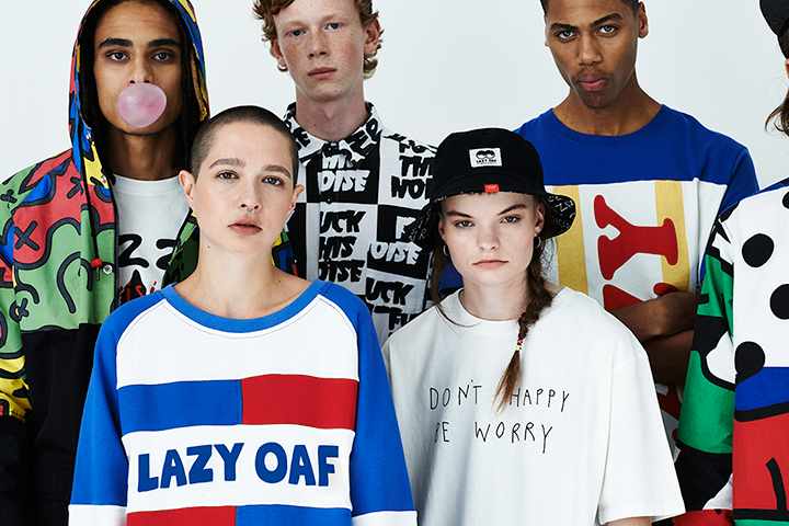 Lazy Oaf Mens Autumn 2014 Lookbook 001