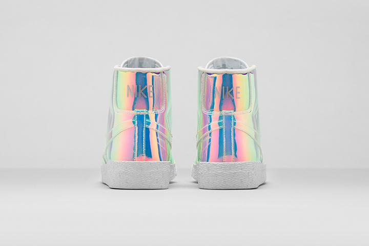 Nike Blazer Mid Premium QS Iridescent Womens 003