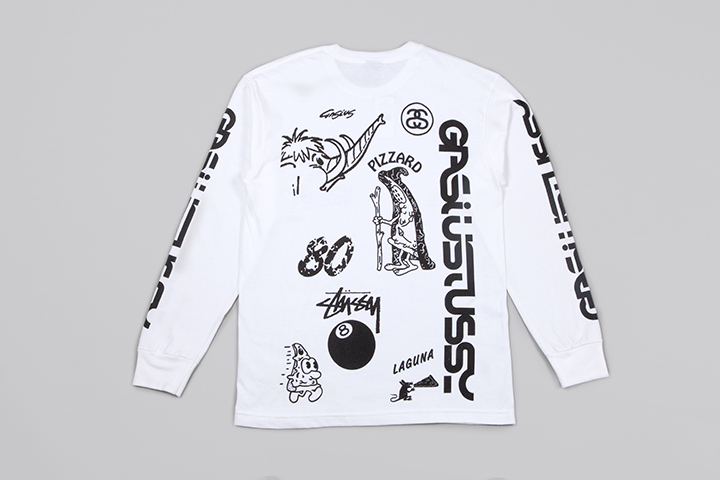 Gasius Stüssy pizza capsule collection 021