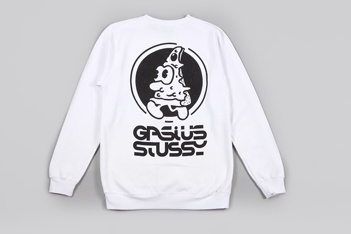 Gasius Stüssy pizza capsule collection 030
