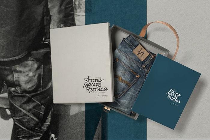Nudie Jeans Grim Tim Stone Mason Replica 001