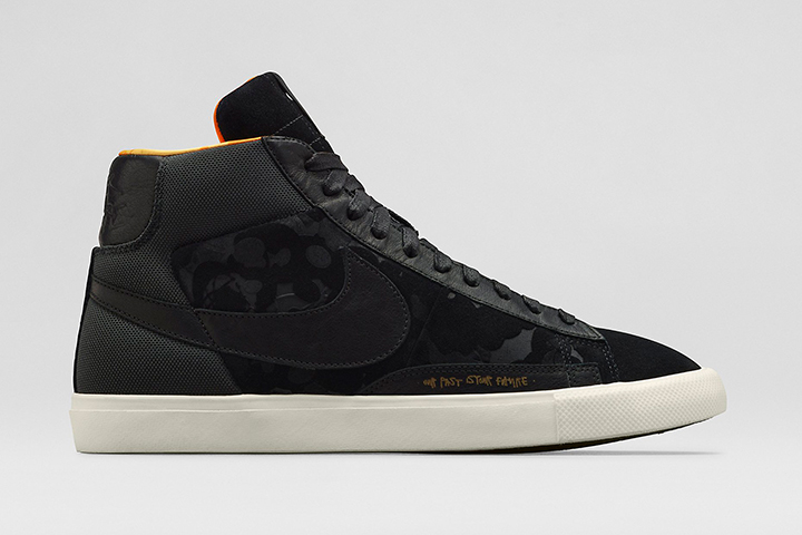 the best attitude 20f26 2533f ... Nike Mo Wax James Lavelle Blazer High Black ...