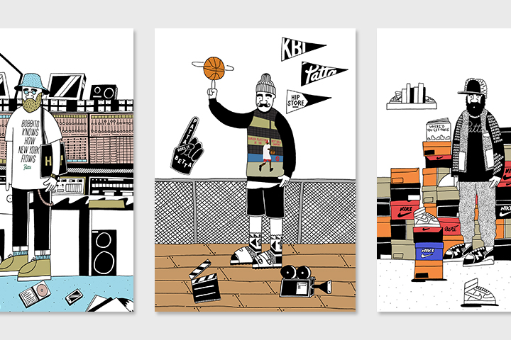 Patta Bobbito by Josh Parkin for The Hip Store 01