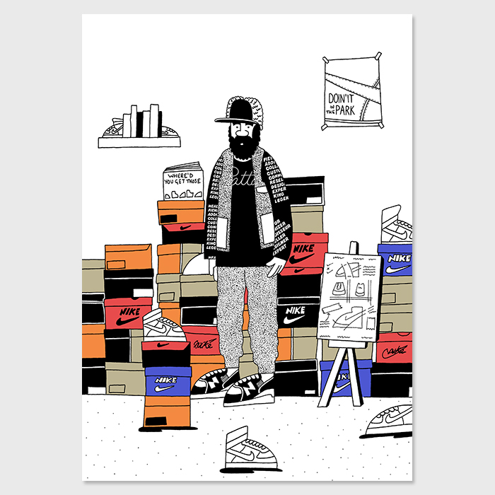 Patta Bobbito by Josh Parkin for The Hip Store 04