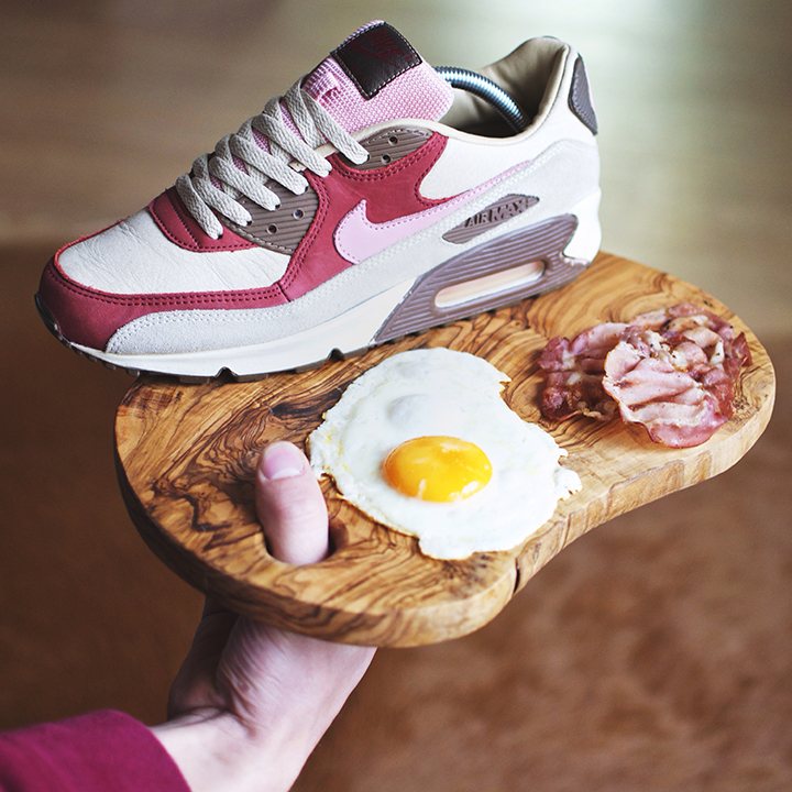 DQM Nike Air Max 90 Bacon shot by Brazum
