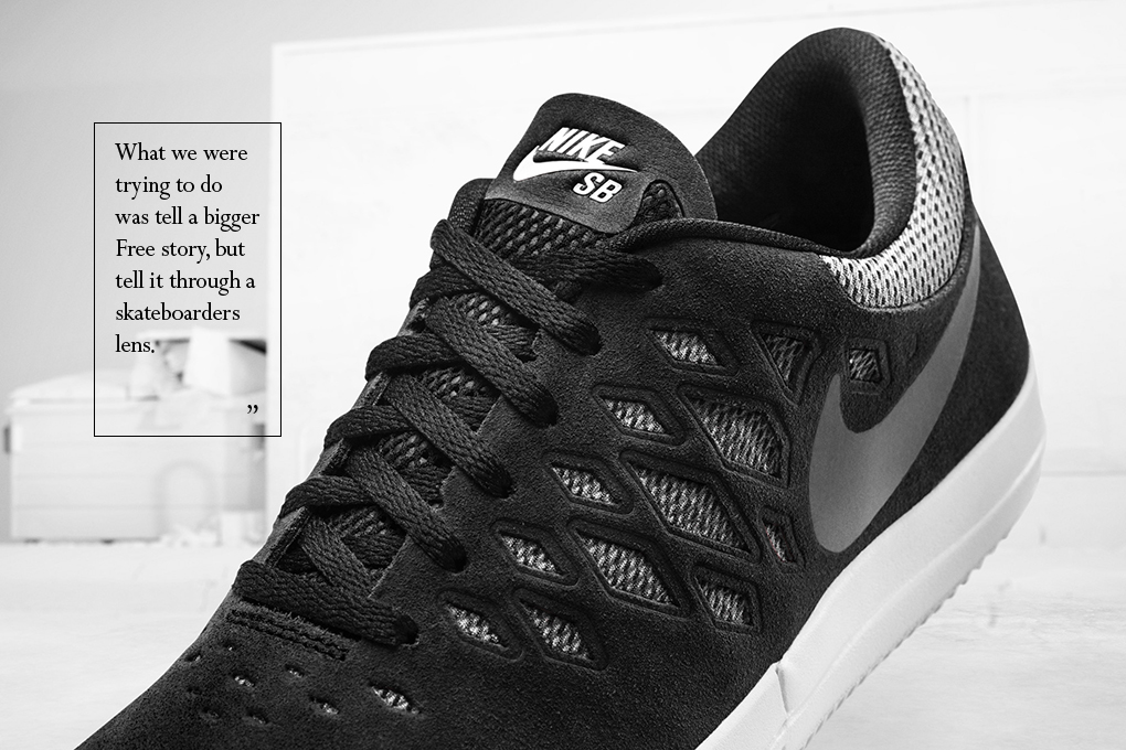 Interview Shawn Carboy talks about designing the Nike SB Free The Daily Street 03