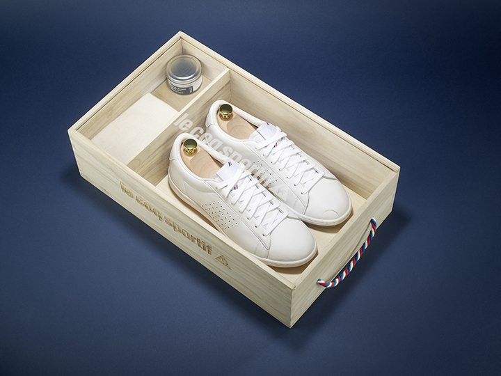 Le Coq Sportif Made in France Arthur Ashe 01