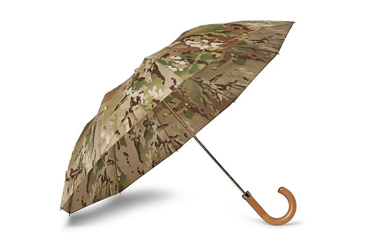 London Undercover camouflage City Gent umbrella 01