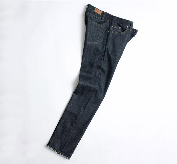 albam limited edition pink selvedge denim jeans 02