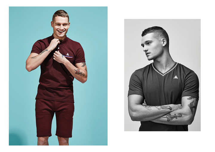 Le Coq Sportif SS15 Tricolor Collection lookbook The Daily Street 02