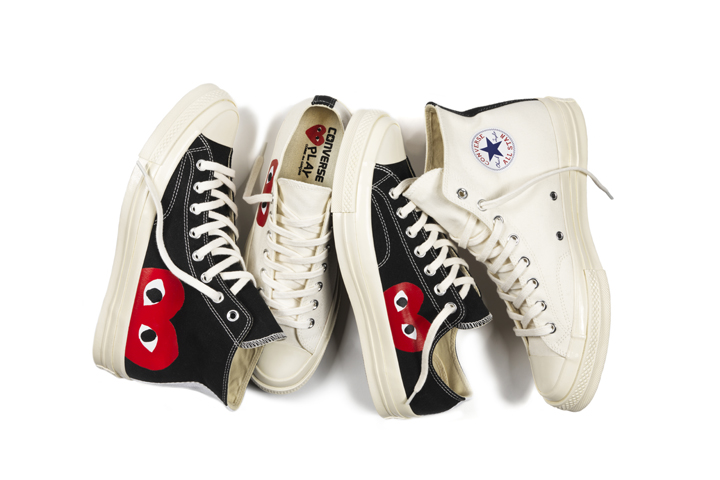 COMME des GARCONS PLAY Converse Chuck Taylor All Star 70 01
