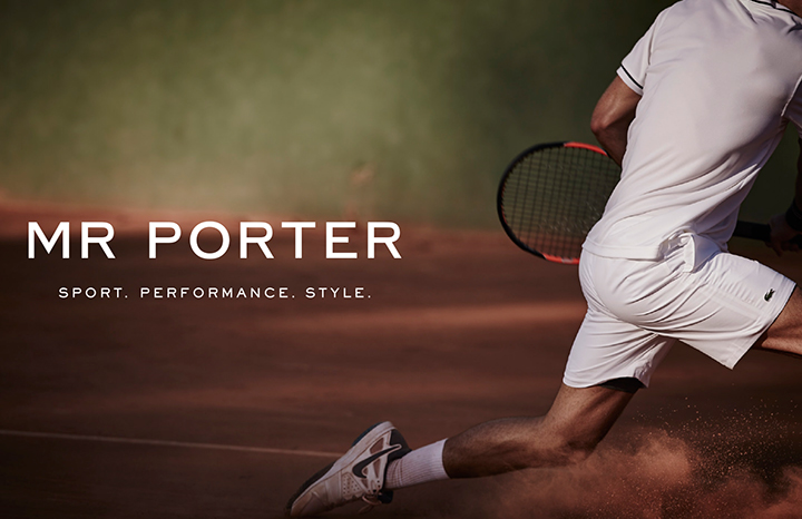 Mr Porter Sport Launches
