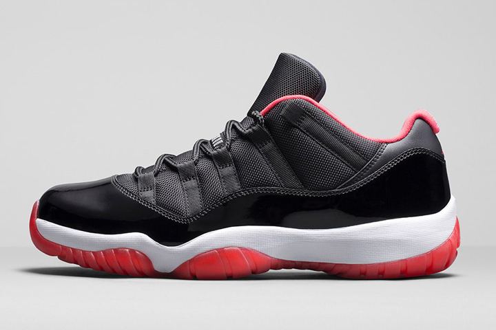 Nike Air Jordan XI Retro Low True Red 01