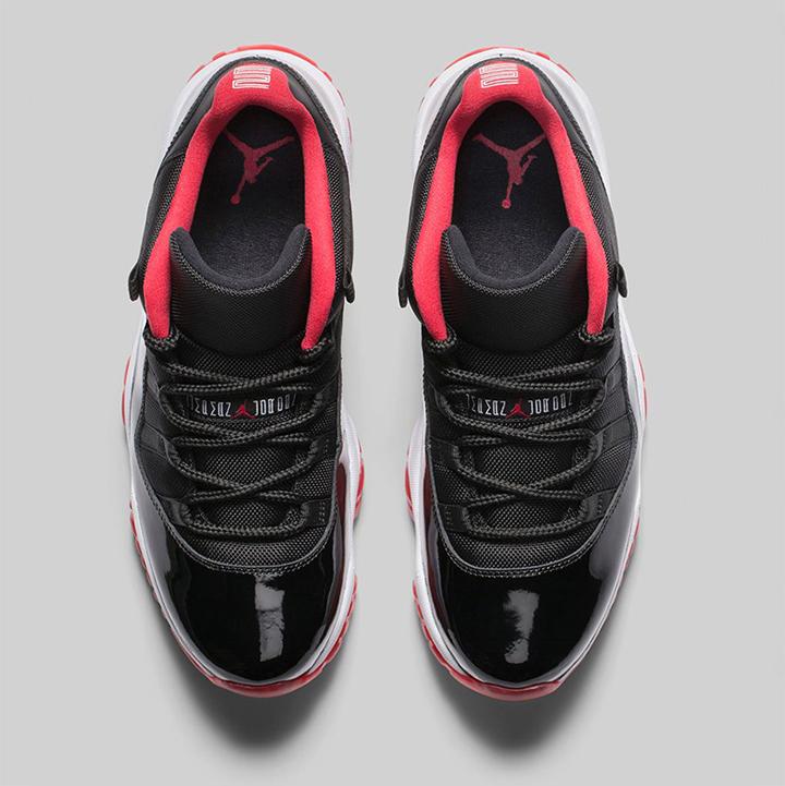 Nike Air Jordan XI Retro Low True Red 04