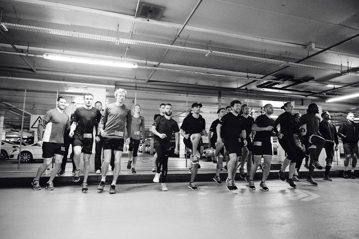Nike Milers launch London Hyde Park 06