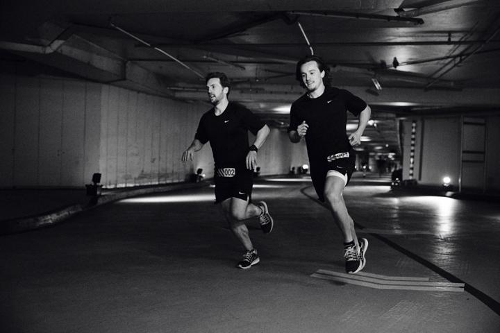 Nike Milers launch London Hyde Park 12