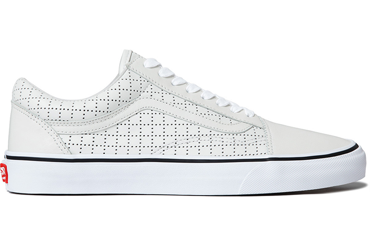 Supreme Vans Old Skool Perforated Leather pack 04