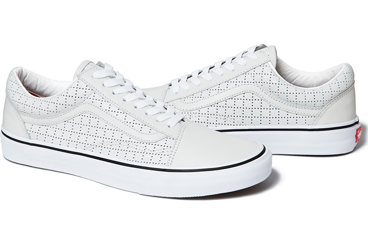 Supreme Vans Old Skool Perforated Leather pack 05