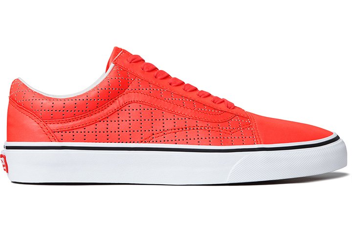 Supreme Vans Old Skool Perforated Leather pack 06
