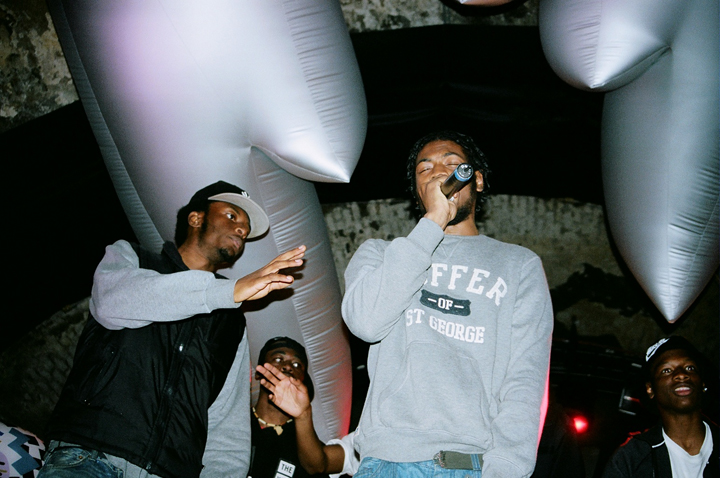 Recap JME D Double E Logan Sama Flowdan The Square House of Vans London 06
