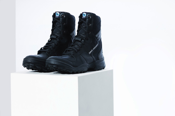 Y-3 Virgin Galactic spaceport america boot