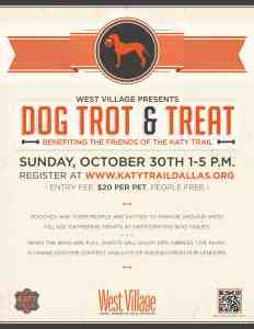 Dog Trot and Treat at West Village