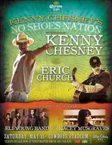 Kenny Chesney Returns to Dallas