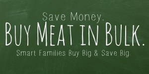 Order Your Food in Bulk and Save Money