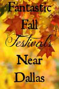 Fantastic Fall Festivals Near Dallas