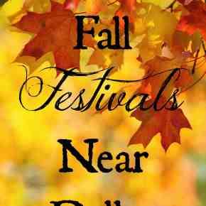 Fall Festivals Near Dallas