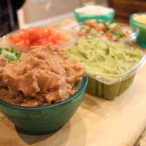 7 Layer Dip Cups - Easy Tailgating Dish