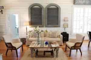 Fixer Upper Inspired Living Room