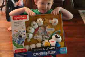 Preschoolers Think and Learn with the Code-a-pillar™