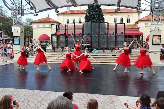 Dancer's Edge Perform at City Place