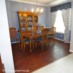 Dining Room Floor Reveal