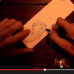 3min video sketching an Adidas wedge