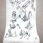 Roll of paper challenge – Day 2 – How to regain motivation at drawing ? |TIP91
