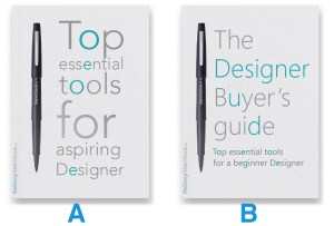 COVER Buyers guide - Compare A or B