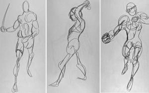 Kimon Nicolaides Gesture drawing