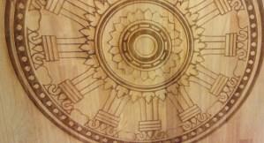 Laser edge wood The design sketchbook