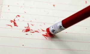 Sketch with no eraser