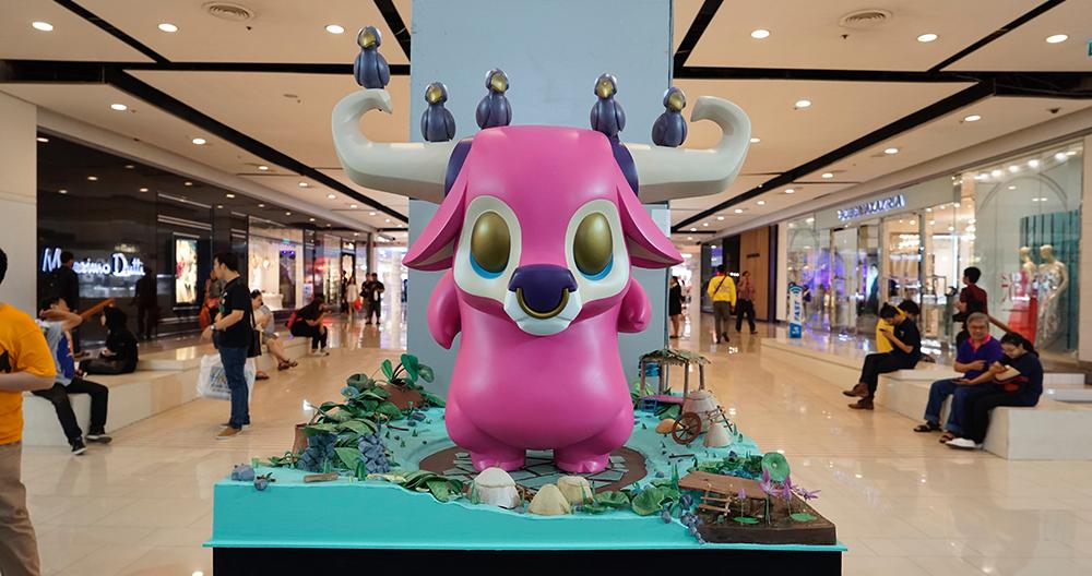 Coarse Bull Toy Expo Thailand Bangkok Play House 2